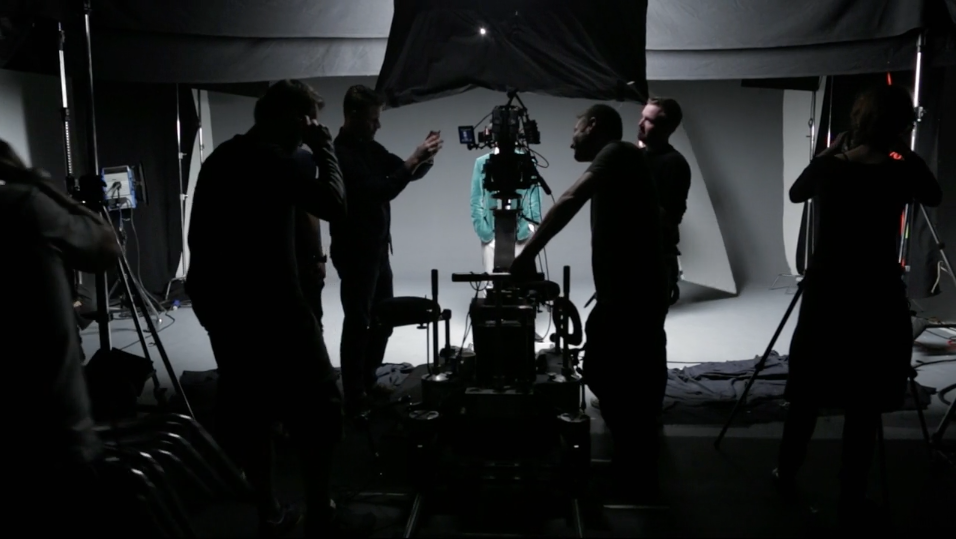 Making of film for Microsoft Surface tablet video