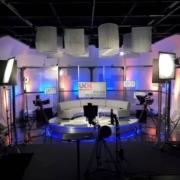 TV studio in London